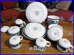 18 Pc Big Sky Carvers Lodge Stoneware Homestead by Thomas Norby Dinnerware Set