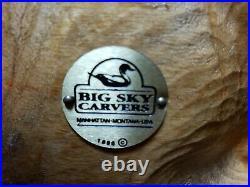 1996 Big Sky Carvers 16 Large Beaver Handcarved