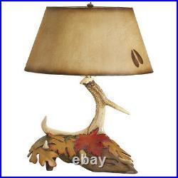 Antler Lamp Big Sky Carvers & Demdaco Rustic Lodge Cabin 30138088