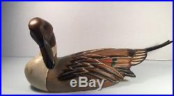 Authentic BIG SKY CARVERS Wood Carved PINTAIL Duck Crafted 2006 5/25 Signed 22