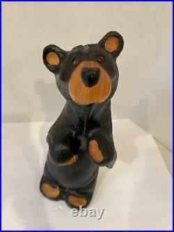 BEARFOOTS Jeff Fleming Big Sky Carvers Solid Wood Bear Lil' Eric RARE! 17 tall