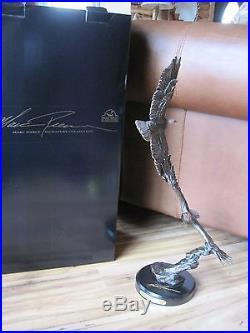 BIG SKY CARVERS AERIAL BALLET #38001 EAGLES Figurine CABIN RUSTIC SCULPTURE NEW