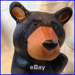 Big Sky Carvers Bears Solid Western Pine 16 3/4 Carved Wood Jeff Fleming