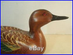 BIG SKY CARVERS Crafted 2003 SIGNED Duck Decoy 12 NICE