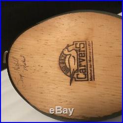 BIG SKY CARVERS Handcrafted Wooden Mallard Duck Decoy 16 Signed Sonya Hatfield