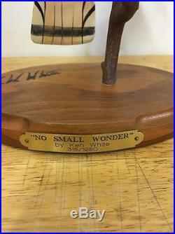 Big Sky Carvers No Small Wonder Signed Ken White 315/1250