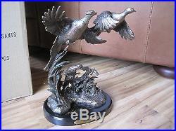 BIG SKY CARVERS ROOSTER Pheasants #38013 Figurine CABIN RUSTIC SCULPTURE NEW