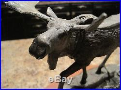 BIG SKY CARVERS WETLAND NOBILITY MOOSE#36656 Figurine Statue B. Williams CABIN
