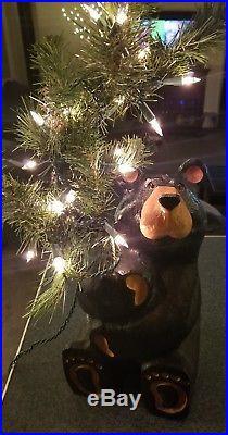 BIG SKY CARVERS WOOD BEAR 14 Jeff Fleming Rudy lighted