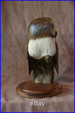 Big Sky Carvers Wood Owl By Ken White #315/12050