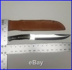 Bark River Knives 2008 Custom Prototype Big Sky Camp Carver knife Brass