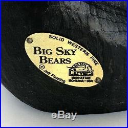 Bearfoots Bear Jeff Fleming Big Sky Carvers Large Standing Bear 12H