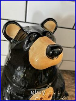 Bearfoots Cookie Jar by Jeff Fleming from Big Sky Carvers Black Bear Canister