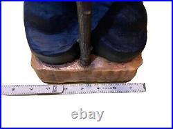 Bearfoots Fisher Bear Grand Figurine Big Sky Carvers Demdaco #3005080182