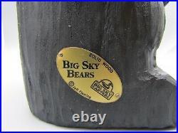 Big Sky Bears Big Sky Carvers Standing Bear 13, Jeff Fleming, Solid Wood