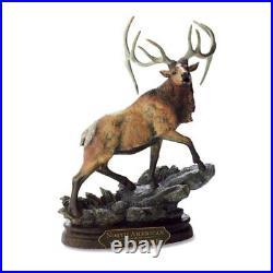 Big Sky CARVERS Deer Sculpture AMERICAN WAPITI by MARC PIERCE
