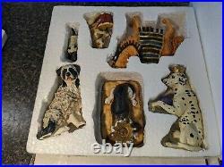 Big Sky Canine Dogtivity set 1&2. Big Sky Carvers. Set #54101 and #54102 15 pc