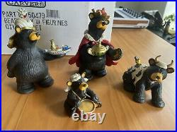 Big Sky Carver, Beartivity III Figurines, #50479