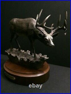 Big Sky Carver Bradford Williams Whitetail Deer Buck Antler Figurine Sculpture