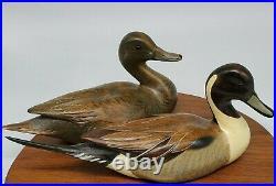 Big Sky Carver John Gewerth Wooden Duck Decoys Springtime Sprig 94/1250 Original