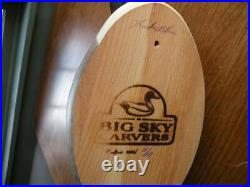 Big Sky Carver Pintail Wood Decoy