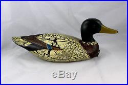 Big Sky Carvers Antique Series Greenhead Drake Decorative Decoy K. Basta