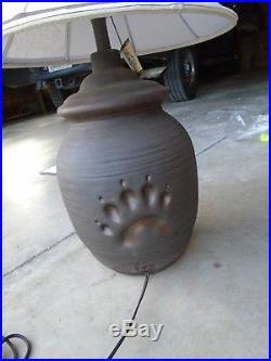 Big Sky Carvers BEAR PAW MASKWA RIDGE LARGE Table Lamp Decor Lighting Rustic