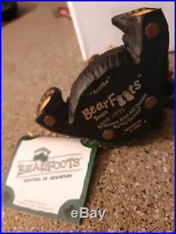 Big Sky Carvers BEARFOOT ARETHA Black Bear Collection Jeff Fleming