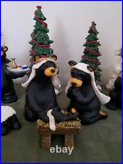 Big Sky Carvers BEARTIVITY BearFoots Nativity Scene Sets I II III Jeff Fleming