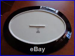 Big Sky Carvers BRUSHWERKS Oval Serving Platter Moose 16 x 11 & brushwerks | Big Sky Carvers
