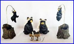 Big Sky Carvers Bear Foots Beartivity I Jeff Fleming Nativity Bear Figurines NEW