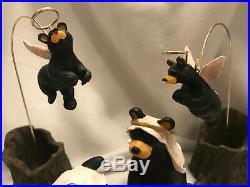 Big Sky Carvers Bear Foots Beartivity I Jeff Fleming Nativity Figurines Bear Ret