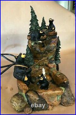 Big Sky Carvers Bear Foots Mountain Fountain #102 by Jeff Fleming Montana Works