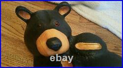 Big Sky Carvers Bear solid wood 22 by Jeff Fleming Bearfoots