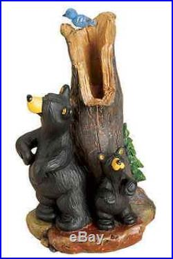 Big Sky Carvers Bearfoots Bear Back Scratching Figurine Jeff Fleming