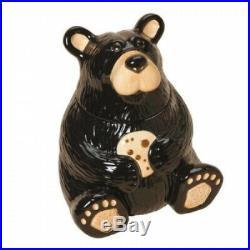 Big Sky Carvers Bearfoots Bear Cookie Jar. Bearfoots Bears by Jeff Fleming