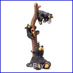 Big Sky Carvers Bearfoots Bear Grand Series, Honey Tree Bear with Cubs