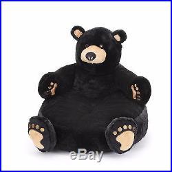 Big Sky Carvers Bearfoots Bear Huggles the Bear Plush Childrens Chair