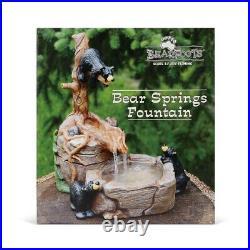 Big Sky Carvers Bearfoots Bears Fountain