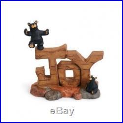 Big Sky Carvers Bearfoots Bears Joy Bear Figurine. Free Shipping