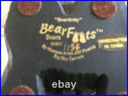 Big Sky Carvers Bearfoots Beartivity Figurine 7 Pc LTD Ed Jeff Fleming FREE SHIP