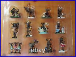Big Sky Carvers Bearfoots Mountain Mooses Phyllis Driscoll 12 Days Ornaments