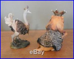 Big Sky Carvers (Bearfoots) Safari Nativity (Beartivity Line) Preowned / Rare