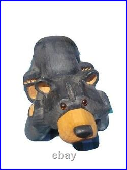 Big Sky Carvers Bears. Jeff Fleming. Wood Carved