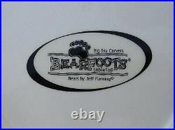 Big Sky Carvers Bears by Jeff Fleming Bearfoots Tabletop Cookie Jar Black Bear