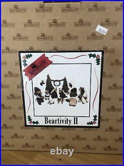 Big Sky Carvers Beartivity Bearfoots Nativity Scene Jeff Fleming
