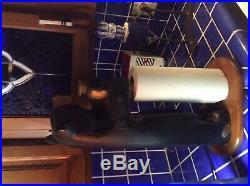 Big Sky Carvers Big Sky Bears Solid Wood Paper Towel Holder Jeff Fleming RARE