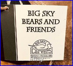 Big Sky Carvers Big Sky Bears and Friends Mikey the Bear