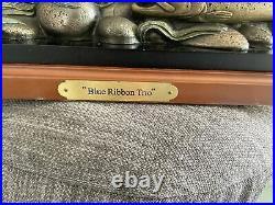 Big Sky Carvers Blue Ribbon Trio Rainbow, Brook, Brown Trout Bill Reel 2001