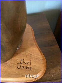 Big Sky Carvers By Burl Jones RIVER OTTER Master's ED Wood Carving Art 196/450